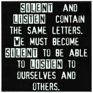 Echt luisteren