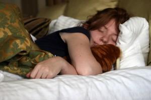 Beschaefd slapen