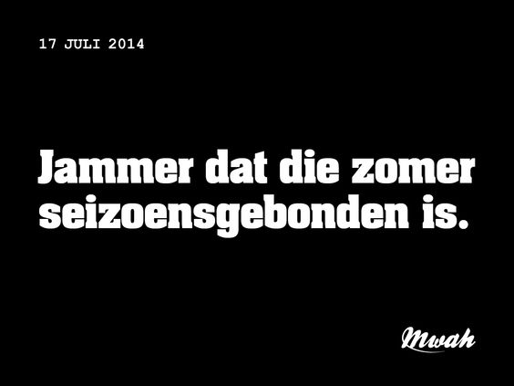 zomer mwah beschaefd nederlands aefke